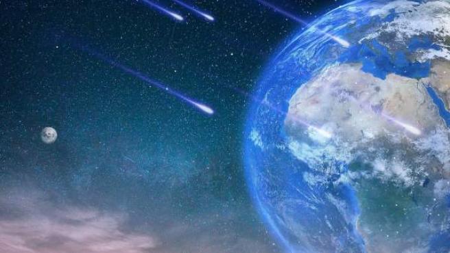 Una imagen ilustrativa de la Tierra vista desde el espacio.