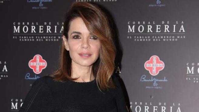 La periodista Carme Chaparro, en un evento promocional en Madrid.
