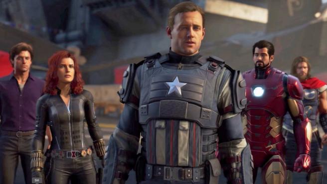 Así lucen los Vengadores en el videojuego 'Marvel's Avengers: A-Day'.