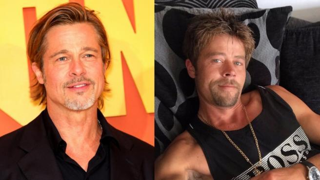 Nathan Mead tiene un gran parecido con el actor Brad Pitt.