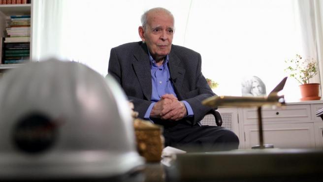 Luis Ruiz de Gopegui, ex director de la estación de la Nasa de Fresnedillas de la Oliva.