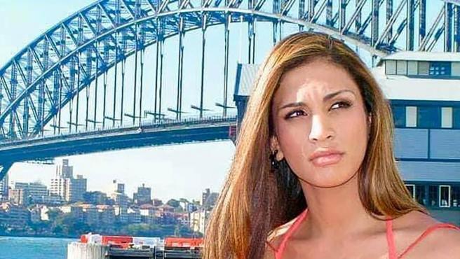 La modelo Miriam Rivera en una imagen promocional del programa 'Hay algo sobre Miriam'.