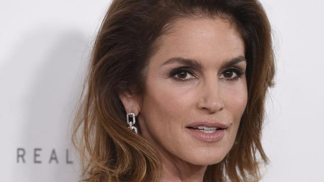 La modelo Cindy Crawford.