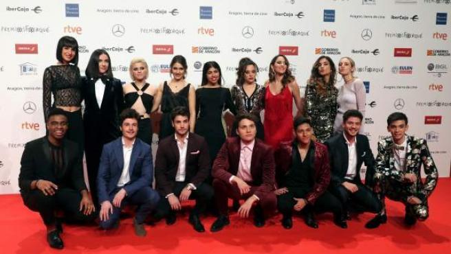 Los participantes de OT 2018.