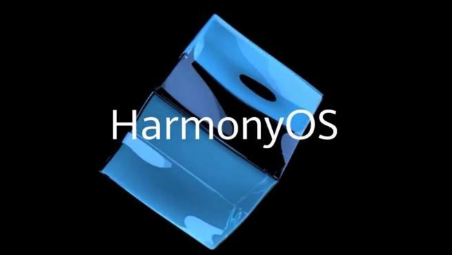 Logotipo del sistema operativo HarmonyOS, presentado por Huawei.