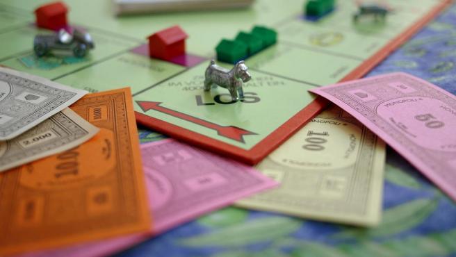 Imagen de un juego de Monopoly.