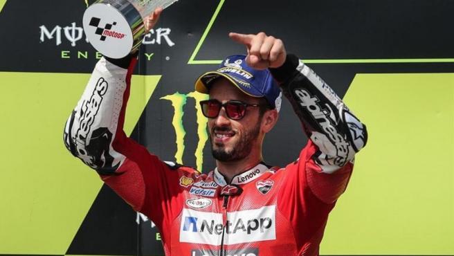 Andrea Dovizioso, vencedor en el GP de Austria.