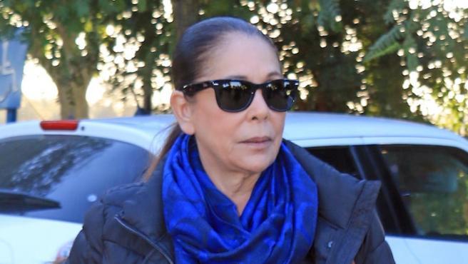 Isabel Pantoja en una imagen de enero de 2019.