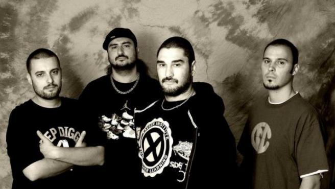 El grupo de rap Violadores del Verso.