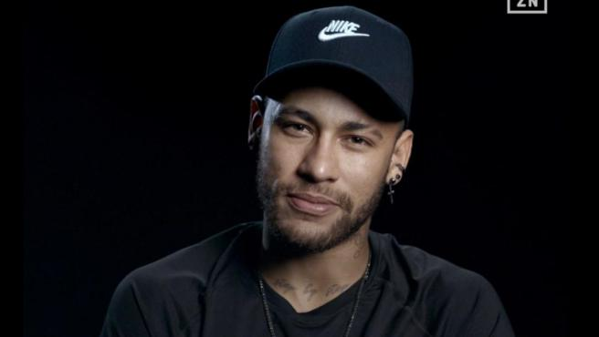 Neymar, durante la entrevista en 'The Making Of'.