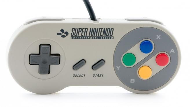 Mando de Super Nintendo.