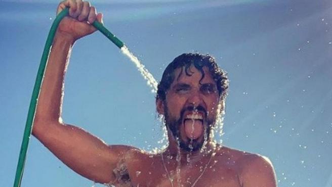Una imagen de Paco León desnudo, subida a su Instagram.