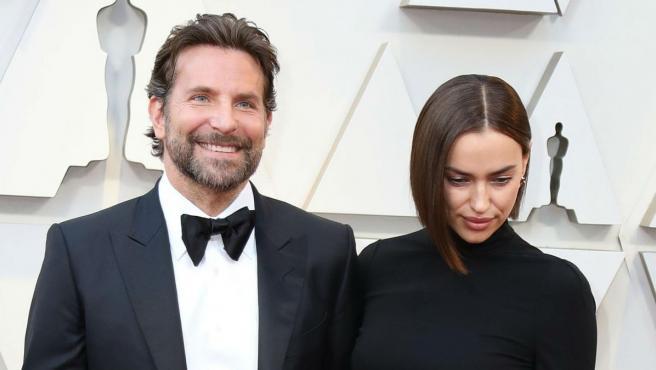 El actor Bradley Cooper y la modelo Irina Shayk.