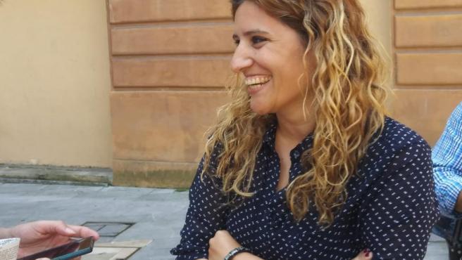 La concejala de Somos en el Ayuntamiento de Oviedo, Anabel Santiago.