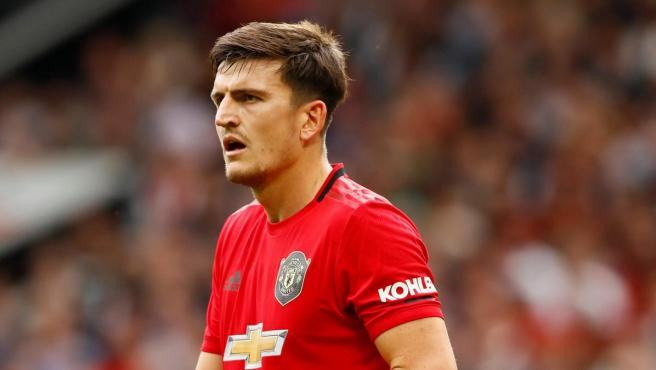Maguire, central del Manchester United.