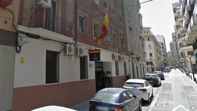 Imagen de la Comisaría de centro de Alicante.