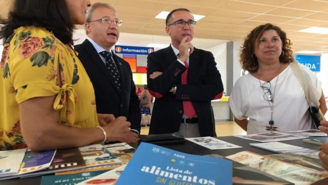 Pablo Fernández Muñiz, en su visita a Fidma