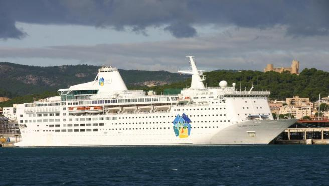 Imagen de un crucero en Palma