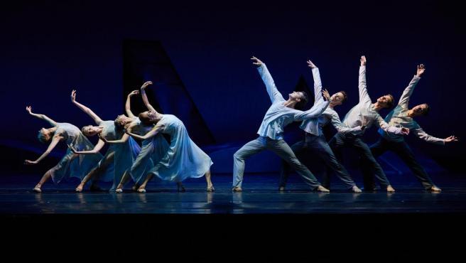 Montaje de 'Les 4 estacions' del Ballet Mariinski