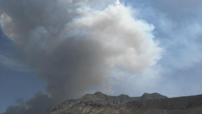 Incendio de Valleseco (Gran Canaria)