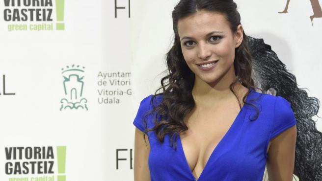La actriz y presentador Elisa Mouliaá, en un evento promocional.