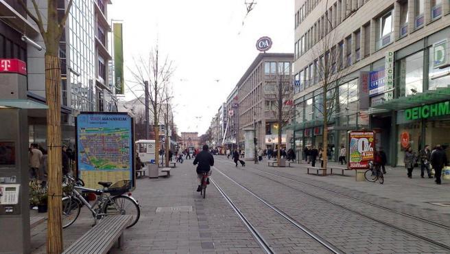 Imagen de la ciudad alemana de Mannheim.