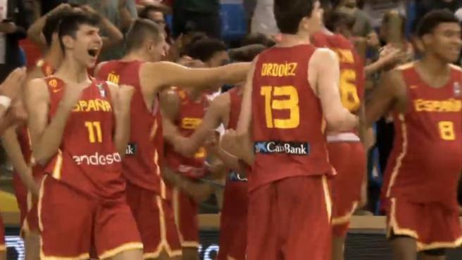 España sub-16, campeona de Europa de baloncesto
