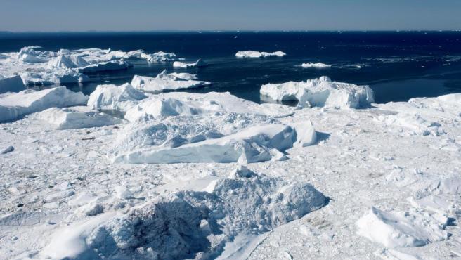 Una zona del oeste de Groenlandia.