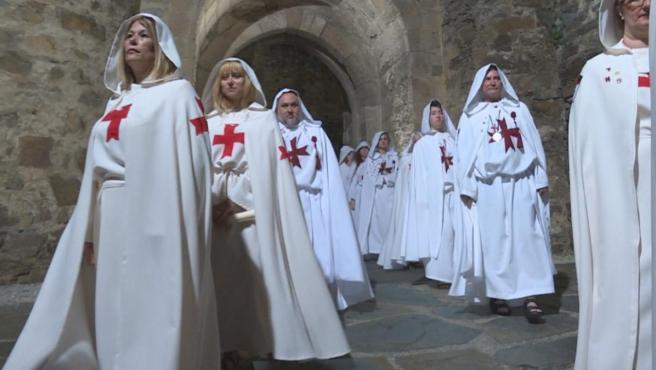 Caballeros templarios en Ponferrada, en el programa 'Comando al Sol', de La 1.