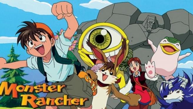 Imagen del anime de 'Monster Rancher'.