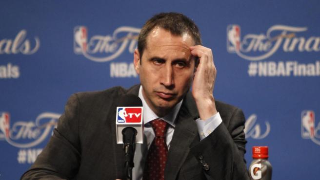 El exentrenador de los Cleveland Cavaliers, David Blatt.