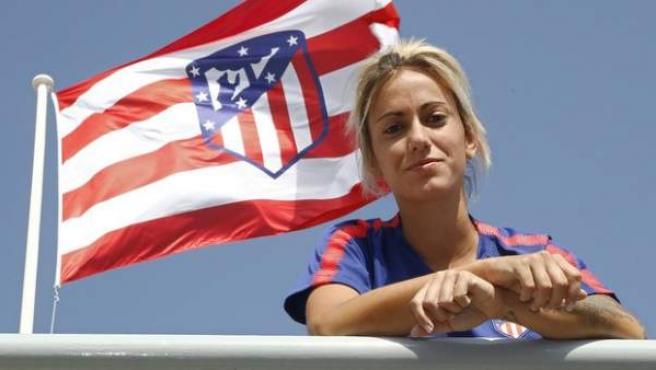 Ángela Sosa, jugadora del Atlético de Madrid.