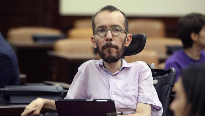 Pablo Echenique, el secretario de Acción de Gobierno de Podemos.