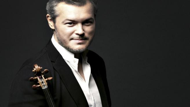 El violinista Vadim Repin, solista de la Orquesta de Tartarstán