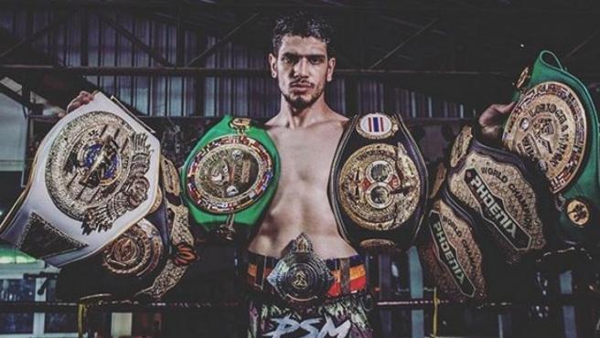 Youssef Boughanem, campeón del mundo de Muay Thai.