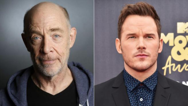 J.K. Simmons interpretará al padre de Chris Pratt en 'Ghost Draft'