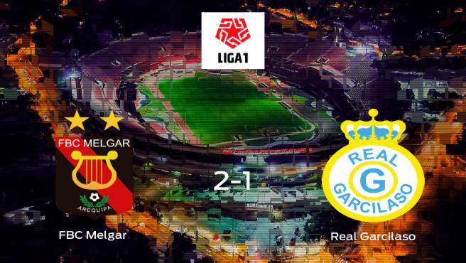 El FBC Melgar se lleva la victoria en casa frente al Real Garcilaso (2-1)