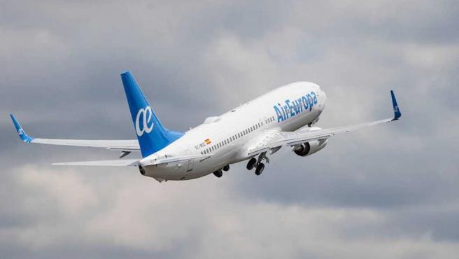 Imagen de recurso de un avión.