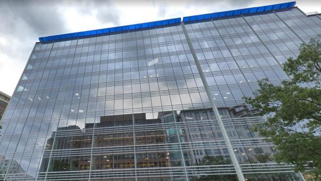 El edificio adquirido por Amancio Ortega, en el 815 de Connecticut Avenue, Washington.