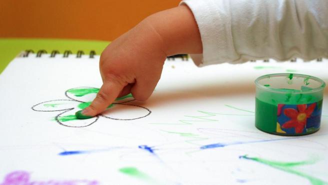 Imagen de archivo de un niño