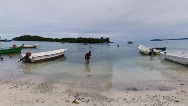Imagen de la playa de Iboih en la isla de Weh, Indonesia.