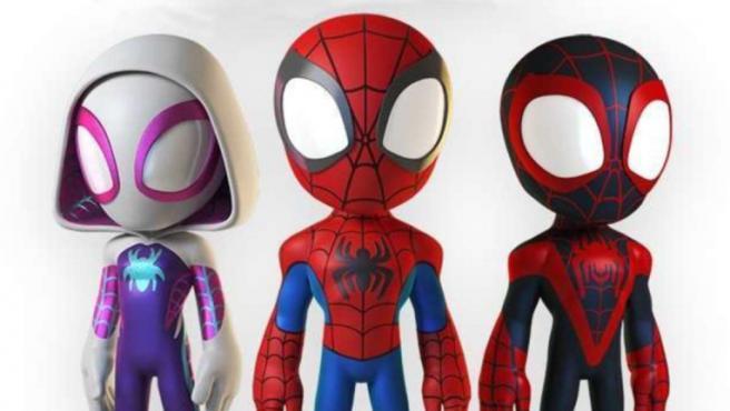 'Marvel's Spidey and His Amazing Friends' es la nueva serie animada de Spider-Man, y se estrenará en Disney Junior