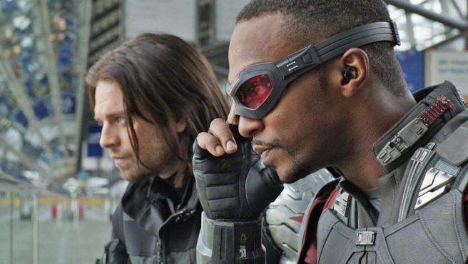 'The Falcon and the Winter Soldier': Bucky cambia de look en la primera imagen