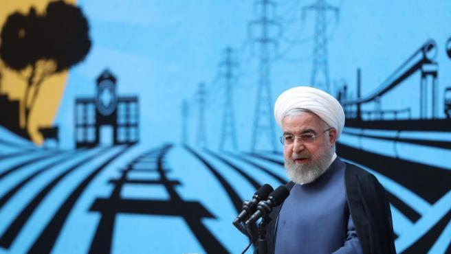 Hasán Rohaní, presidente de la República Islámica de Irán.