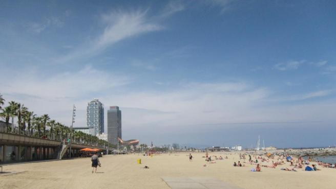 Playa de la Barceloneta.