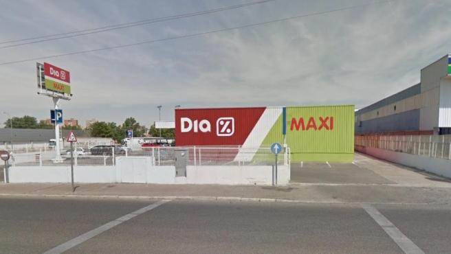 Supermercado Dia en Guadalajara.