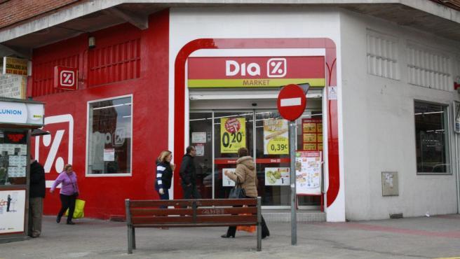 Imagen de un supermercado Día.