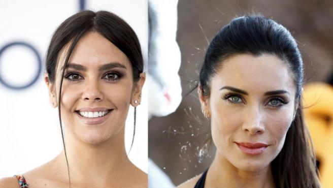 Imagen combinada de las presntadoras Cristina Pedroche y Pilar Rubio.