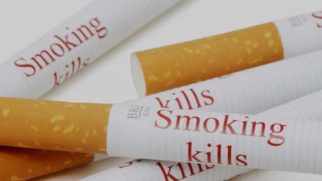 Cigarrillos con mensaje.
