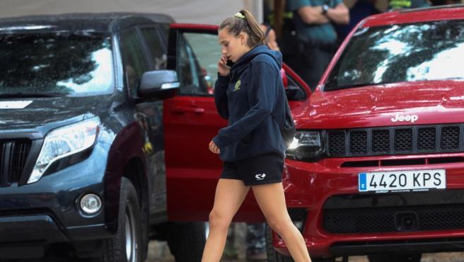 Olivia Fresneda, hija de Blanca Fernández Ochoa y jugadora de rugby.